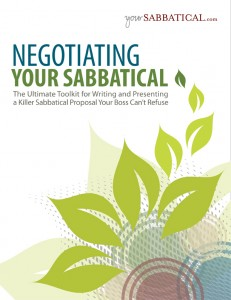 Negotiating Your Sabbatical - yourSabbatical