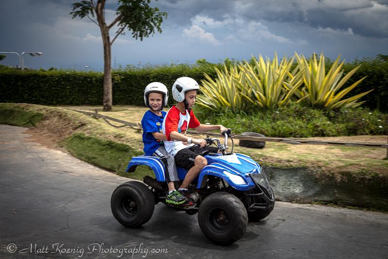 ATV riding at Kampung Gajah Wonderland