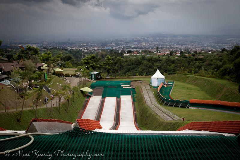 The tube run at Kampung Gajah Wonderland