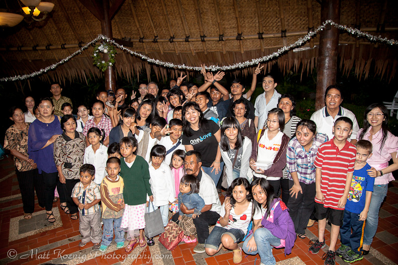 Christmas in Cimahi Indonesia